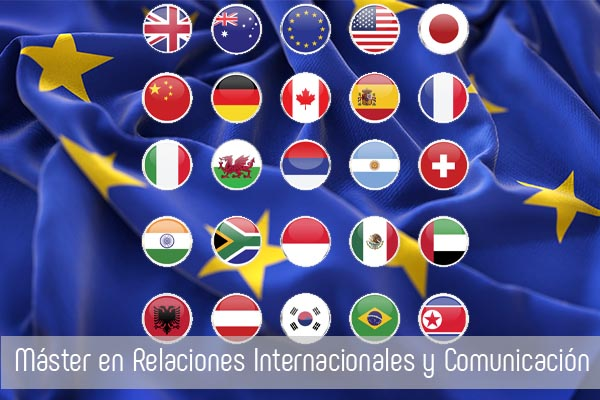 master relaciones internationales y comunicacion